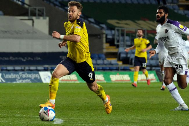 Matty Taylor has been encouraged by Oxford United's last two displays in front of goal and wants that to continue in the final five matches of the season Picture: Ric Mellis