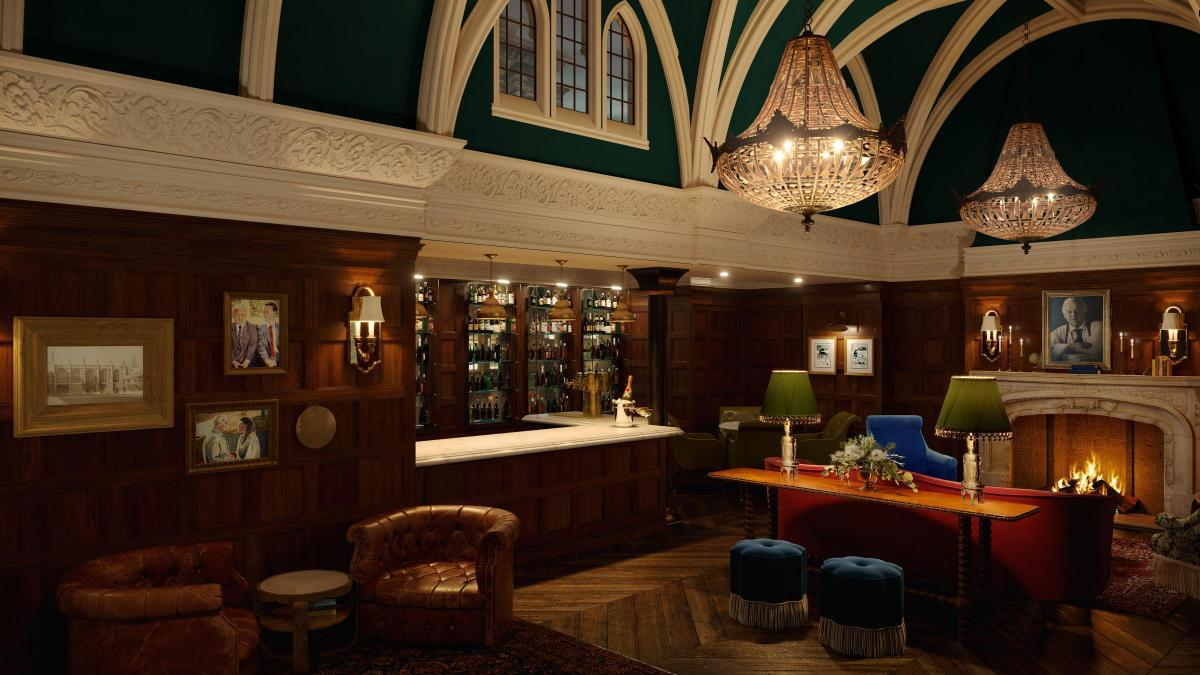 An artists impression of the Randolph Hotels Morse Bar Picture: Graduate Hotels