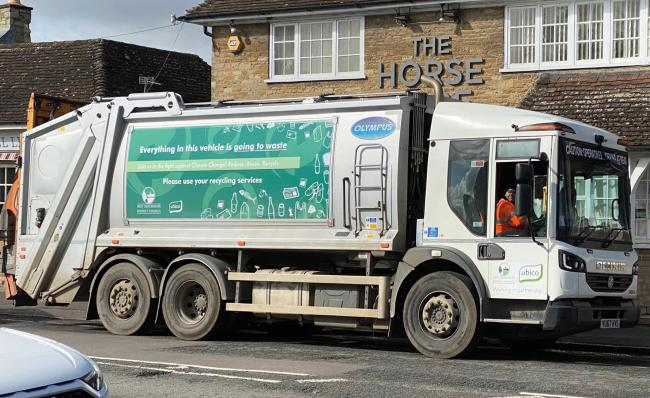 West Oxfordshire District Council is to invest up to £140,000 in new technology for its bin collections. Picture: Ted Fenton