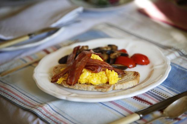 Oxford Mail: Long Acre Farm Breakfast 05/01/2021 Photo by Ed Nix