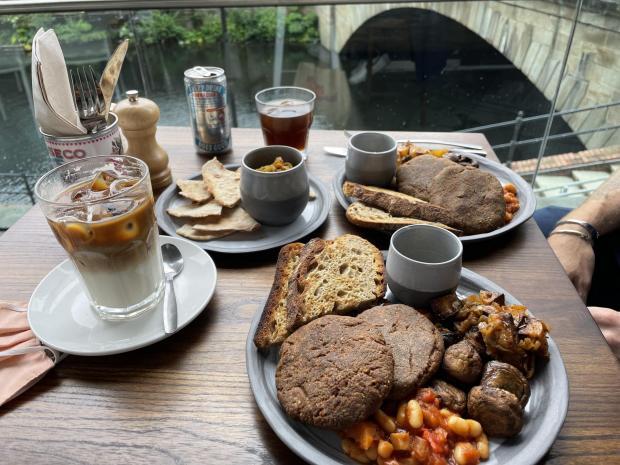 Oxford Mail: Vegan English breakfast