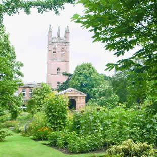 The University of Oxford Botanic Garden was created on land which, in the 13th century, was a Jewish cemetery