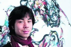 James Chen-Wishart, with his work Oarfish
