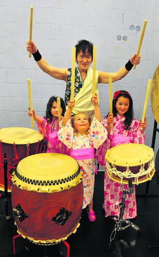 Drumming up support in Woodstock to help Japan tsunami victims