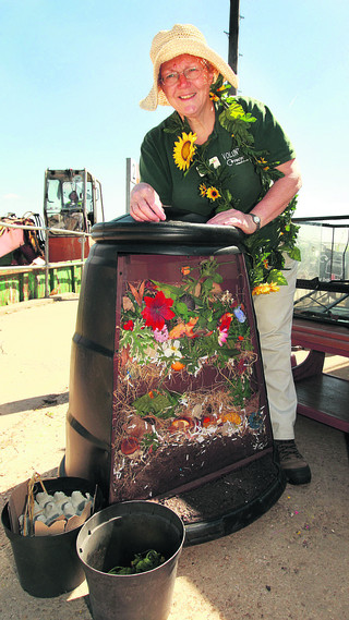 Master composter Sue Baines
