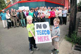 Campaigners bid to keep Tesco out