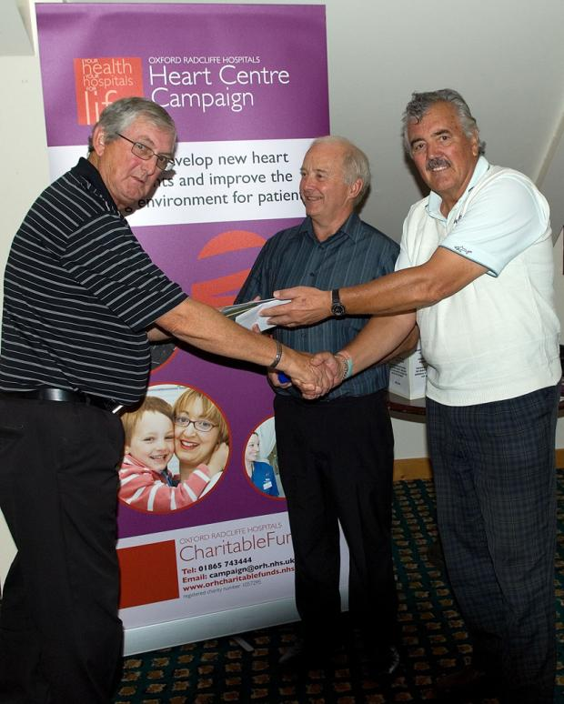 Winners of the Seniors' Charity Open Golf at Witney Lakes Resort
