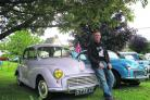 Andrew Dyer and his lilac Minor Million