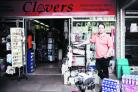 John Hudson, outside his Clovers hardware store in Botley