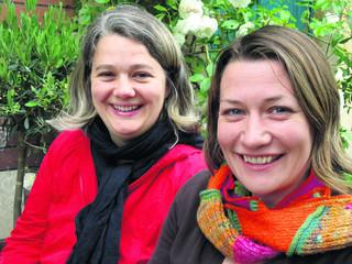 Amy Rose and Alice Ferguson who founded Playing Out