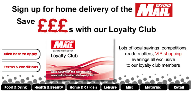 Oxford Mail Loyalty Club