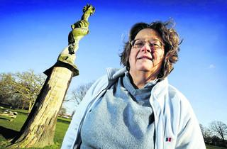 Oxford Mail: Fears for park's Storybook Tree sculpture