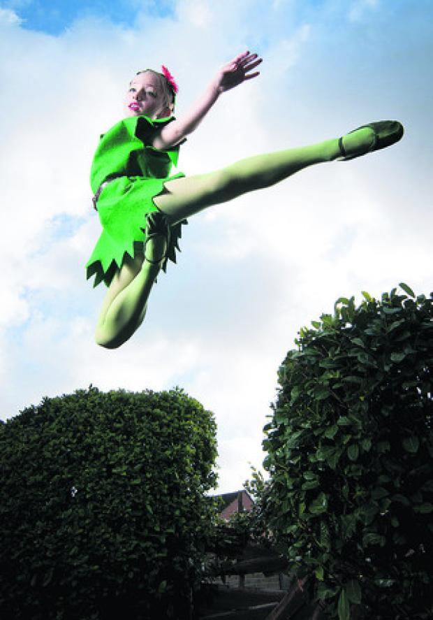 Dancer Charlotte Boyce has been offered a scholarship with the English Youth Ballet