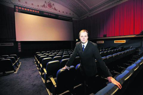 Oxford Mail: Odeon manager David Williams in screen one