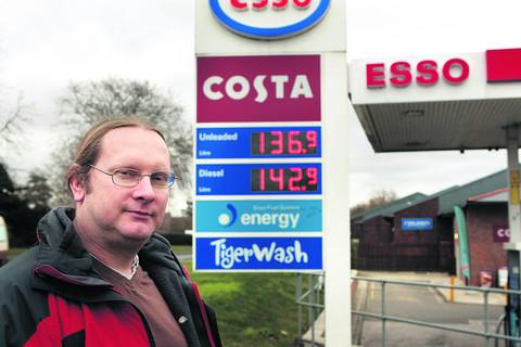 Rising fuel prices 'hit county worse' | Oxford Mail