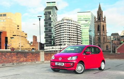 Oxford Mail: The new Volkswagen Up!