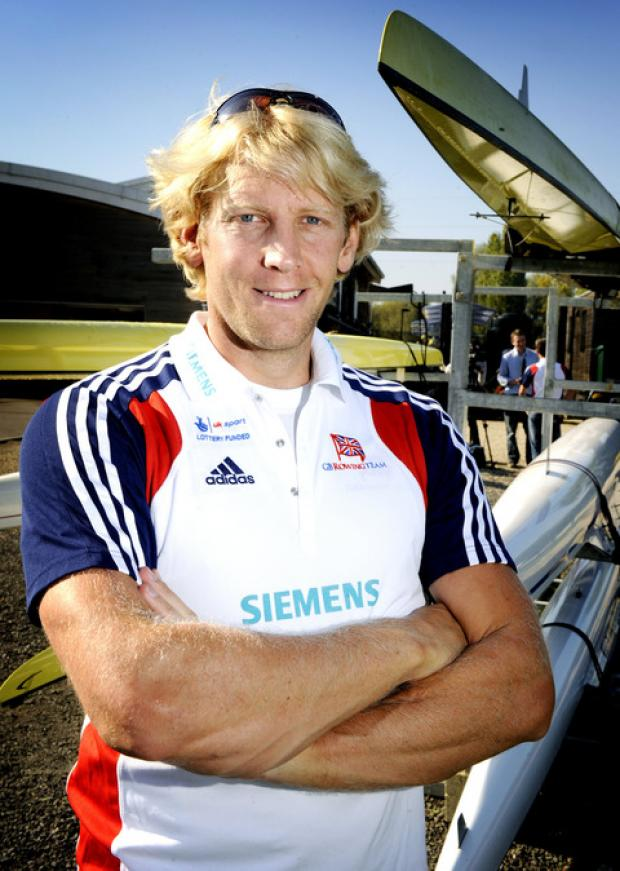 Oxford's Andy Triggs Hodge is back in Great Britain's men's four