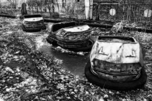 The Bumper Cars, one of Darren Nisbet's pictures