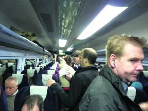Train overcrowding