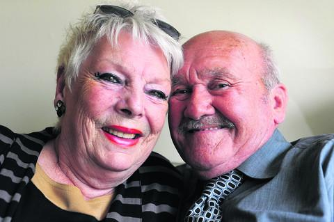 John and Marguerite Smith celebrate the 60th anniversary of their wedding