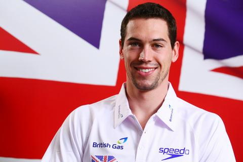 Simon Burnett is concentrating on trying to help Great Britain's relay team to an Olympic medal