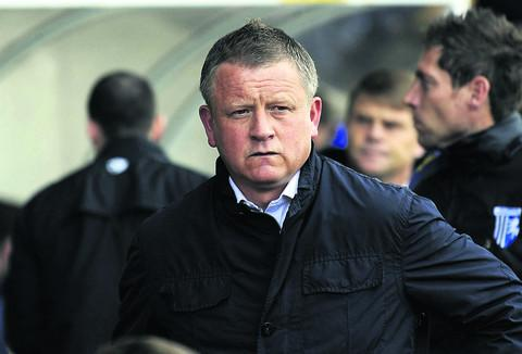 Chris Wilder is desperate to see his side end a four-game winless run at Plymouth Argle tomorrow to improve their play-off prospects