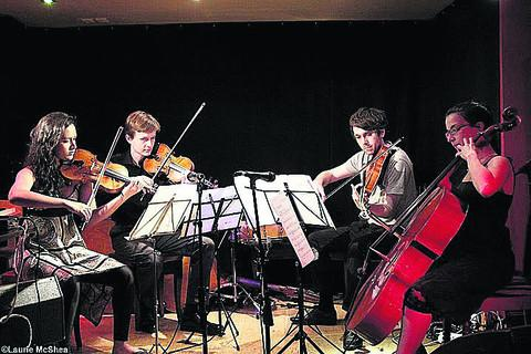 Ligeti String Quartet: Jacqueline du Pre Music Building, St Hilda's College, Oxford