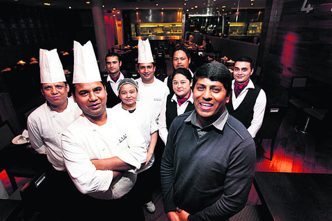 4,500 MILES FROM DELHI: 'the city's most stylish Indian restaurant.'