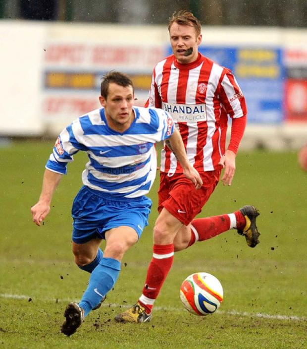 Oxford Mail: Liam Malone is back in Oxford City's squad followi