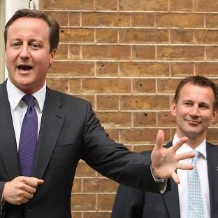 Oxford Mail: David Cameron said he had seen no evidence that Jeremy Hunt had breached the ministerial code
