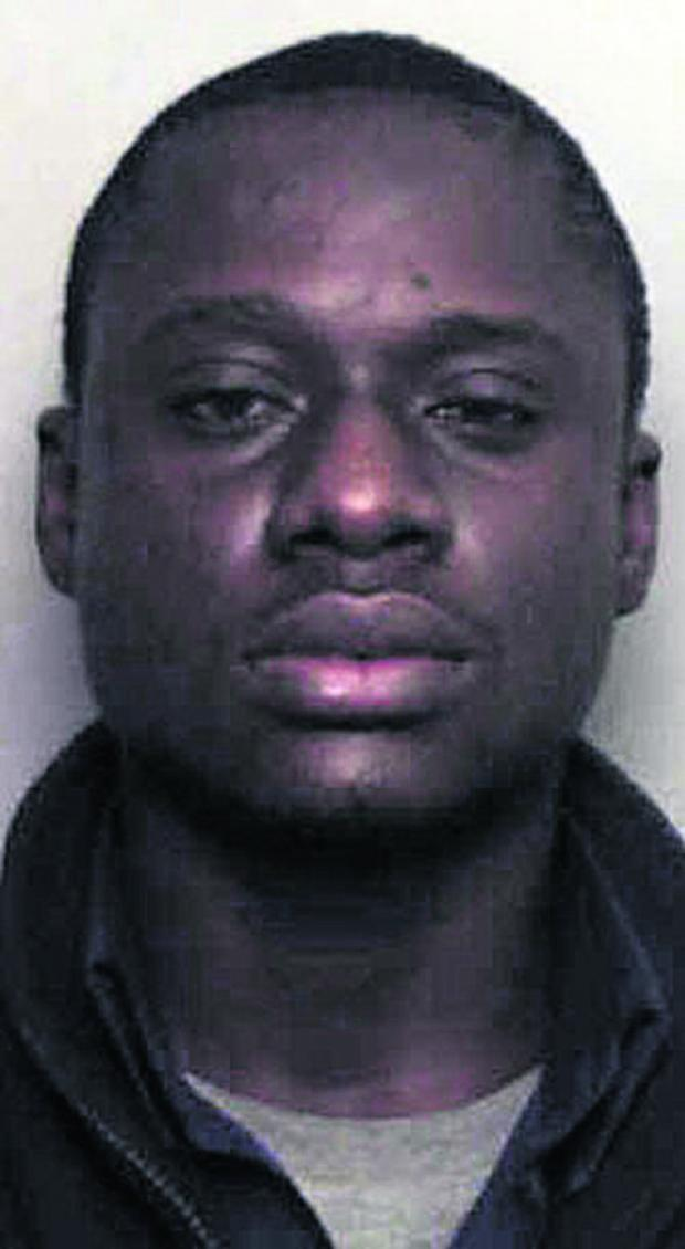 Sampson Olajie Makhinde is wanted in connection with a 2009 rape in Oxford
