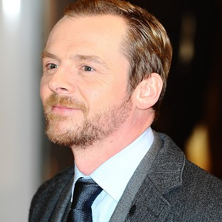 Simon Pegg is a self-confessed sci-