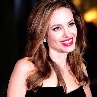 Angelina Jolie hadn't planned to become an actress