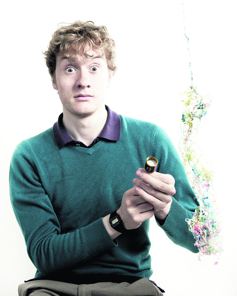 "JAMES ACASTER: ""It's all good-natured. I talk to the audience but I'm never nasty to them, and there's a lot of whimsy..."