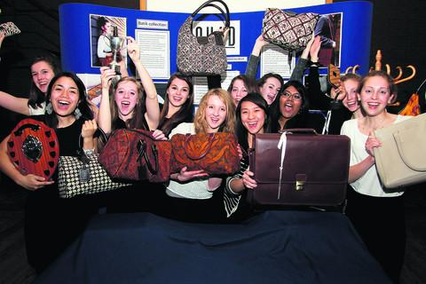 Oxford Mail: Success is in the bag for enterprising teens