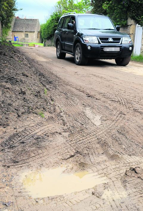 'Potholed roads are in a Third World state'