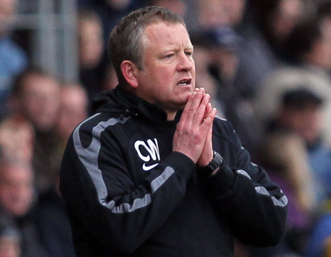 United boss Chris Wilder is hoping his prayers are answered this afternoon