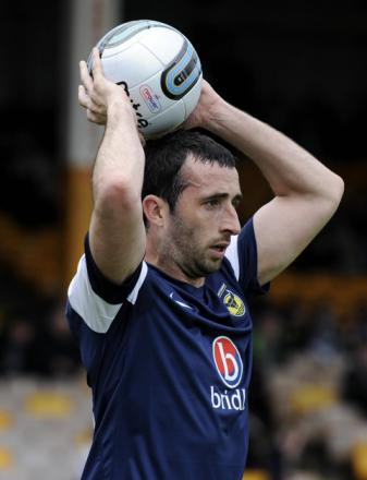 Tony Capaldi made his Oxford United debut in their final-day defeat at Port Vale