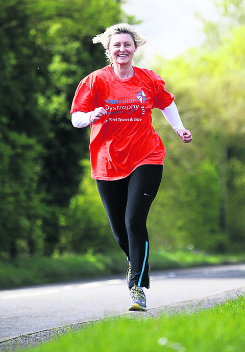 Diana Ruffels is running for niece Sarah Avery. Picture: OX51802 Antony Moore