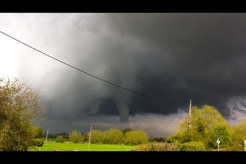 Reader submitted picture over South Leigh.
