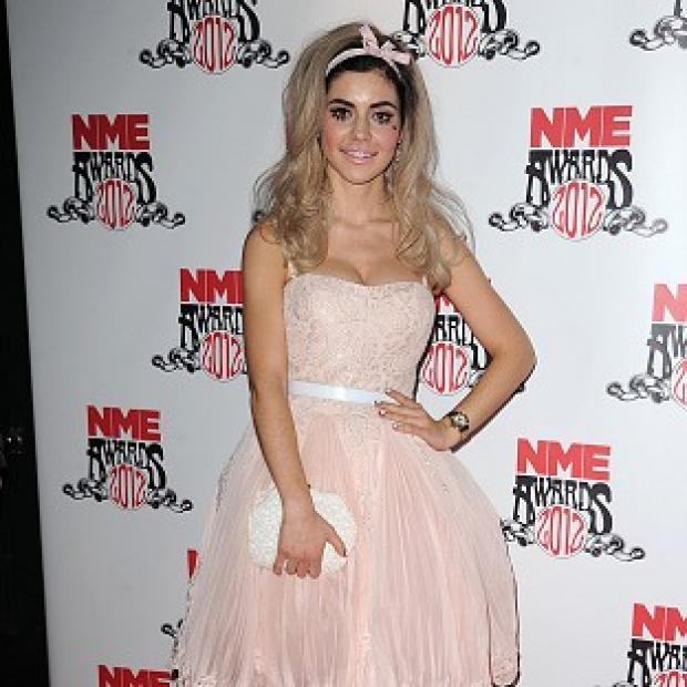 Marina Diamandis revealed her new blonde image was inspired by her last break-up