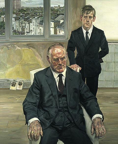 NATIONAL PORTRAIT GALLERY: LUCIAN FREUD: