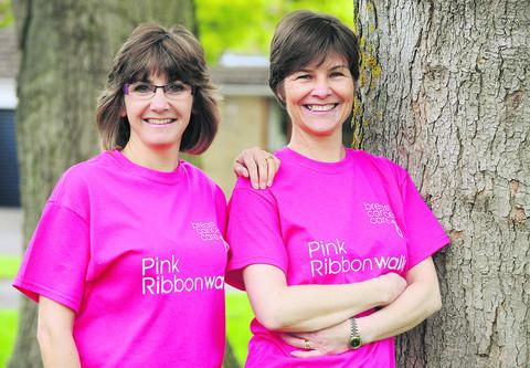 Oxford Mail: Alison Pitt, left, and Mary Anne Beveridge. Picture: OX52033 Jon Lewis