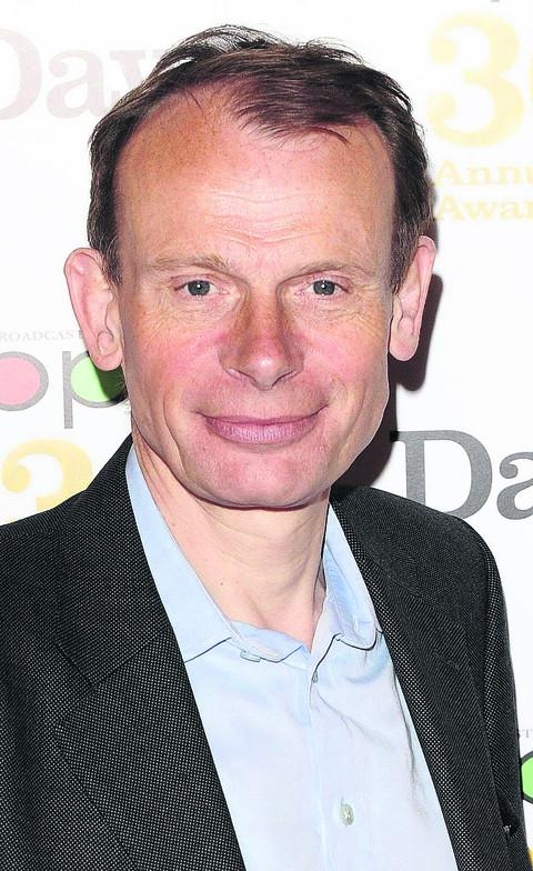 ANDREW MARR: 'national treasure...'