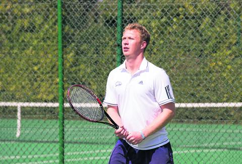 Joe Cartledge upheld his perfect singles record