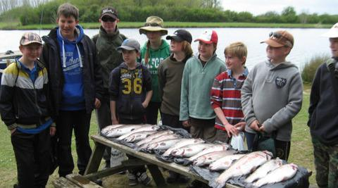 ANGLING: Trout treat for youngsters
