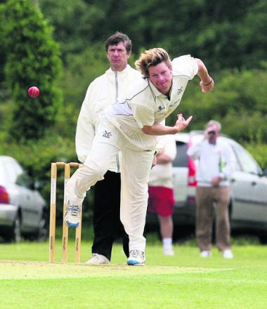 Wes Morrick claimed Aston Rowant's only wicket