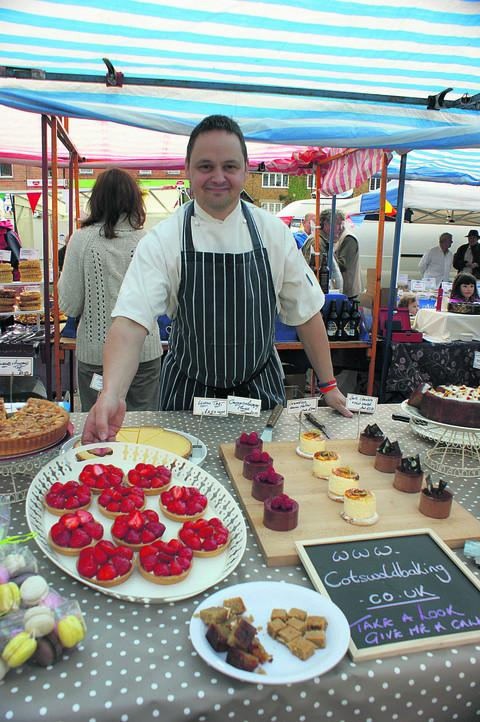 Scrummy cakes win fans at the markets