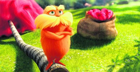 THE LORAX: 'the animators let their imaginations run amok'
