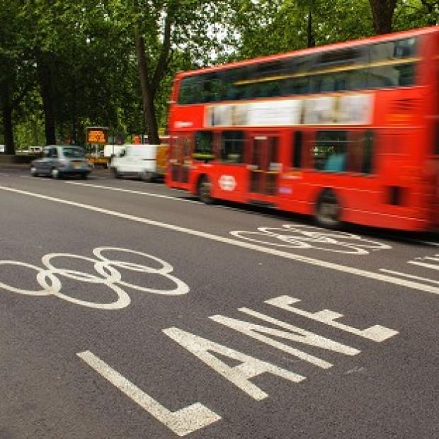 Some 2,400 drivers have been fined for using the Olympic Games Lanes